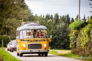 Hochzeit Straßlach mit Oldtimerbus