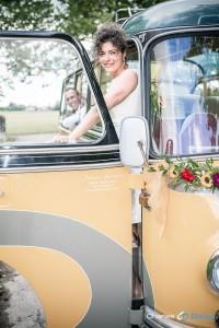 Hochzeit Oldtimer Bus