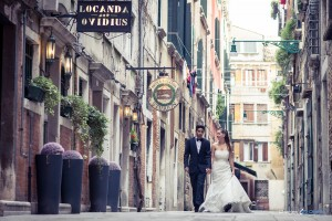 Hochzeitsfotograf bei After-Wedding-Shooting in Venedig