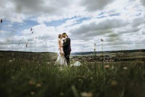 Hochzeitsfotograf Kitzingen in den Weinbergen