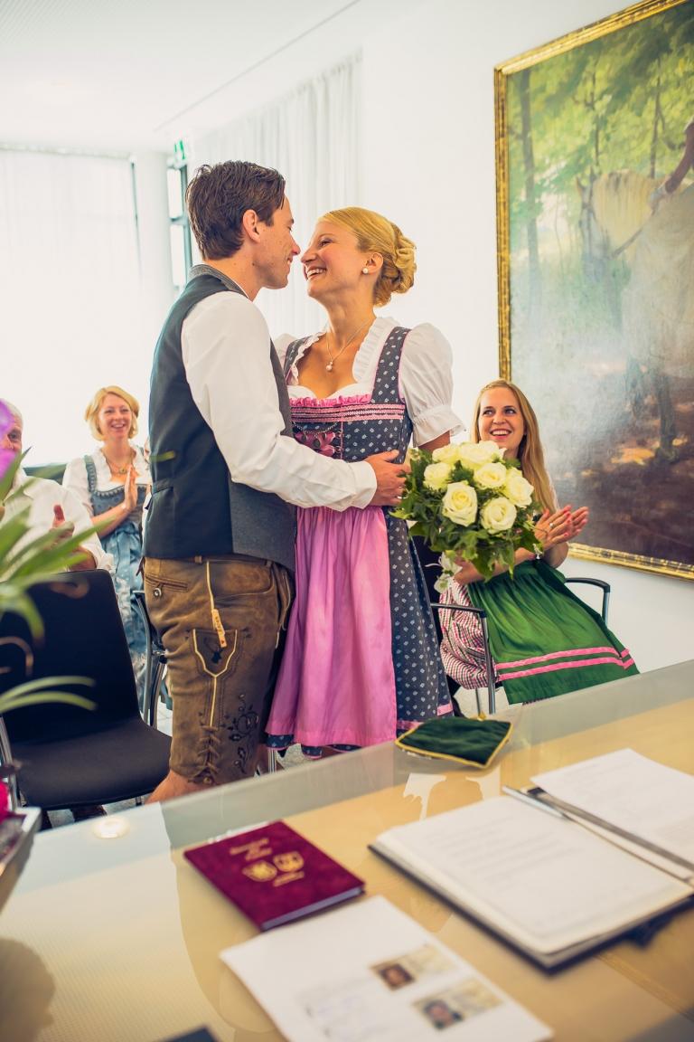 Hochzeitsfotograf Standesamt Pasing