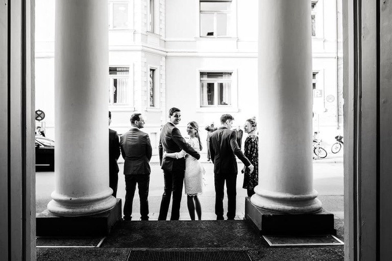 Das Standesamt in der Mandlstraße - Hochzeit