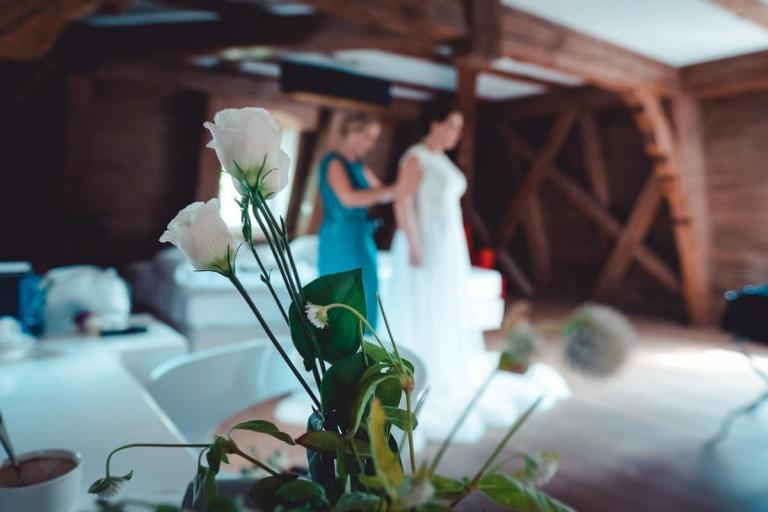 Hochzeit im Schloß Hohenkammer